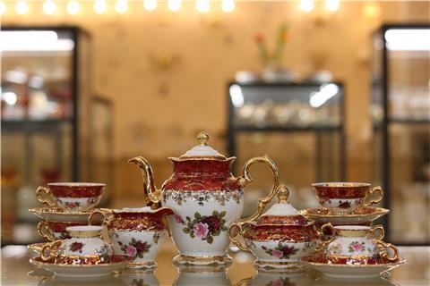 Bộ trà sứ cao cấp FR MS CL CE