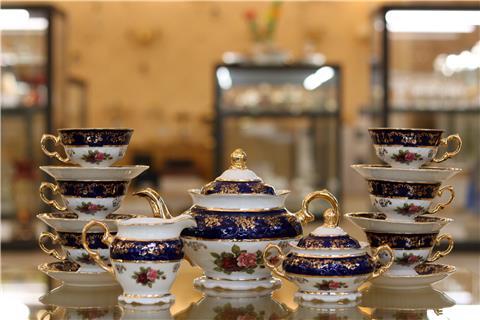 Bộ bình trà sứ đẹp từ Tiệp FR CS K CE