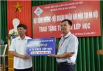 """Hội nghị tổng kết chương trình tặng """"Tủ sách lớp học"""" cho các nhà trường của Hội doanh nhân Hải Hậu tại Hà Nội"""