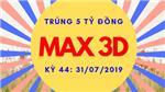 Trúng 5 Tờ Vietlott Max 3D Trị Giá Hơn 5 Tỷ Đồng