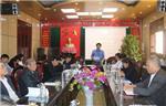 Hội nghị Hiệp thương lần thứ nhất thỏa thuận về cơ cấu, thành phần, số lượng người ứng cử đại biểu Hội đồng nhân dân huyện lần thứ XIX, nhiệm kỳ 2021-2026