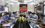 UBND huyện tổ chức Hội nghị trực tuyến đánh giá tình hình thực hiện nhiệm vụ phát triển kinh tế - xã hội tháng 5, trọng tâm công tác tháng 6 năm 2021.
