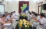 Hội nghị liên tịch thống nhất nội dung, chương trình kỳ họp thứ Nhất HĐND huyện khóa XIX, nhiệm kỳ 2021-2026