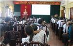 Hải Hậu tổ chức Hội nghị tập huấn, hướng dẫn tiêm phòng vắc  xin phòng, chống bệnh Viêm da nổi cục trên trâu, bò