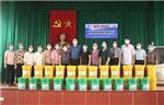 Chương trình trao tặng thùng rác cho thành viên TYM tại xã Hải Hà