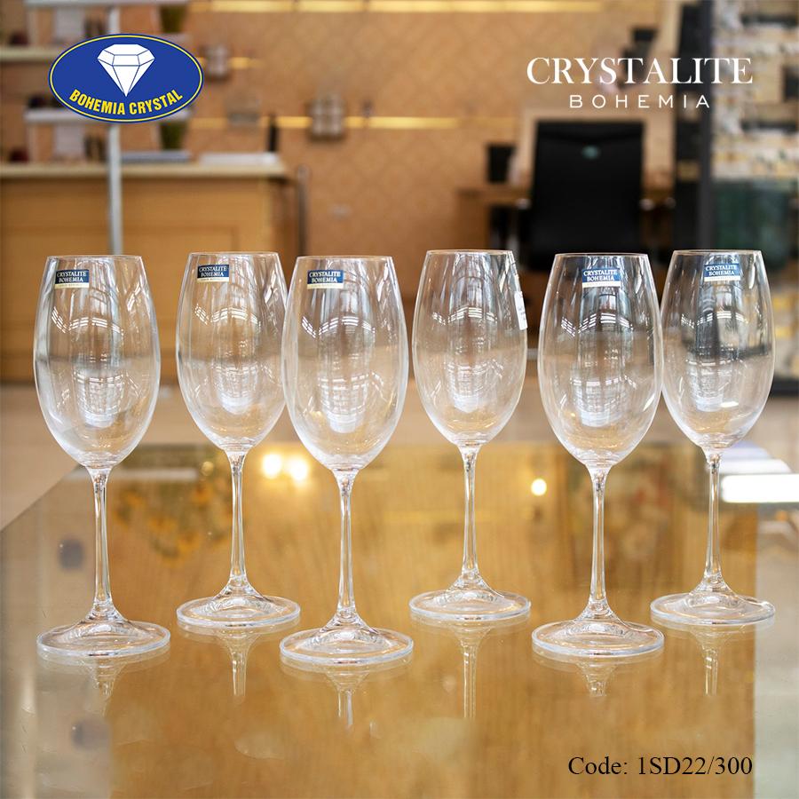 Ảnh minh họa Ly uống rượu vang trắng Milvus White Wine 300ml