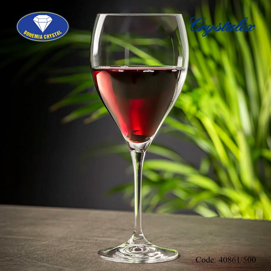 Ảnh minh họa  Ly uống rượu vang đỏ Lenny 500ml, 560ml