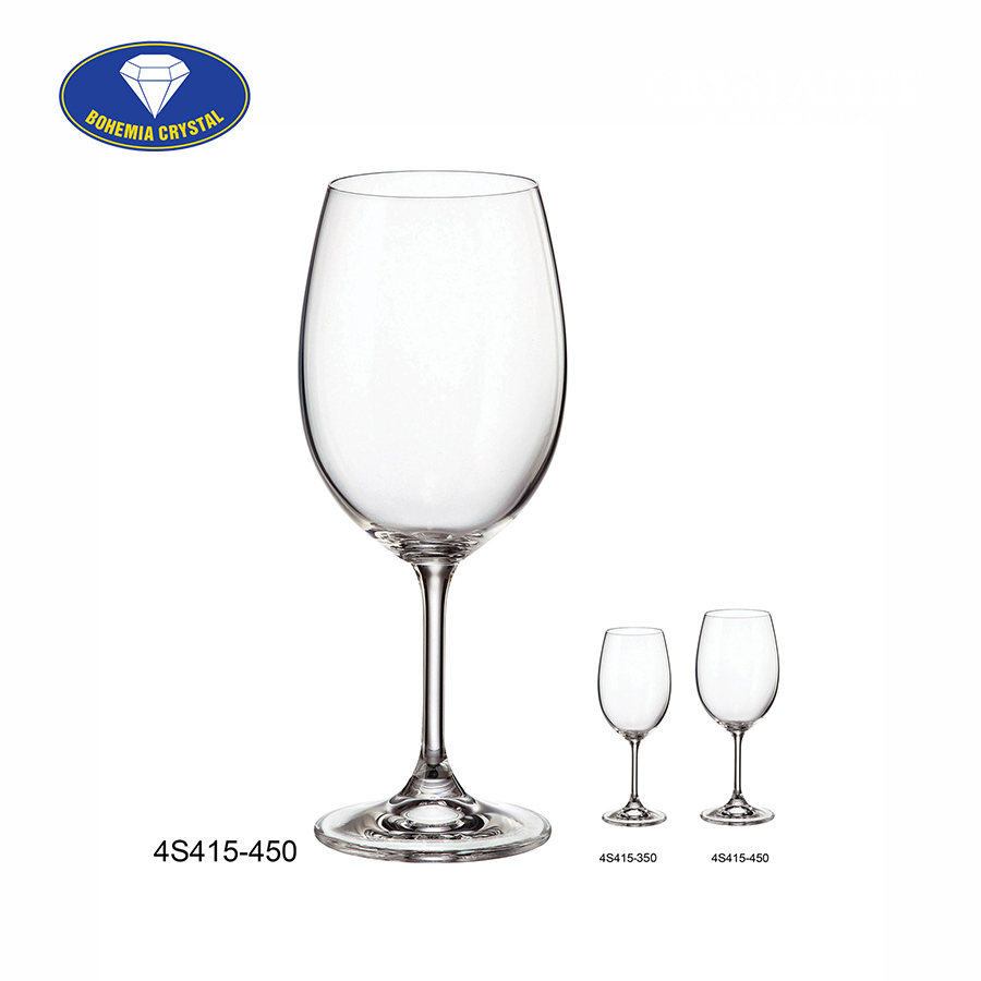 Ảnh minh họa Ly uống rượu vang đỏ Sylvia Red Wine 450ml