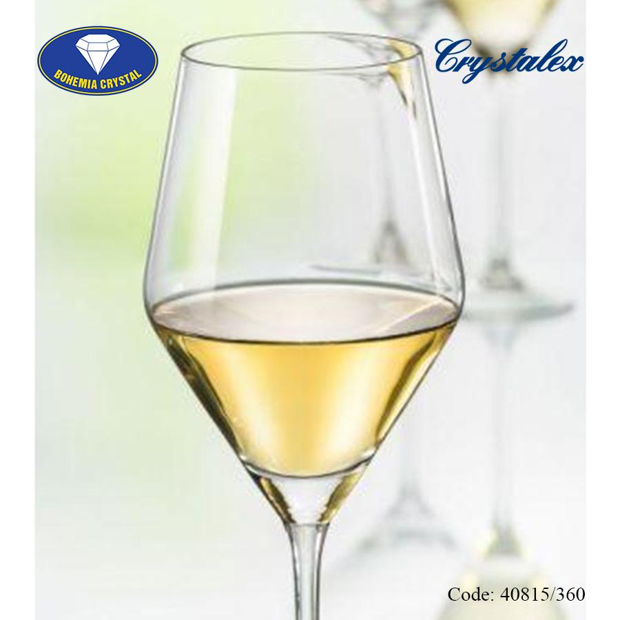 Ảnh minh họa Ly uống rượu vang trắng Jane White Wine 360ml