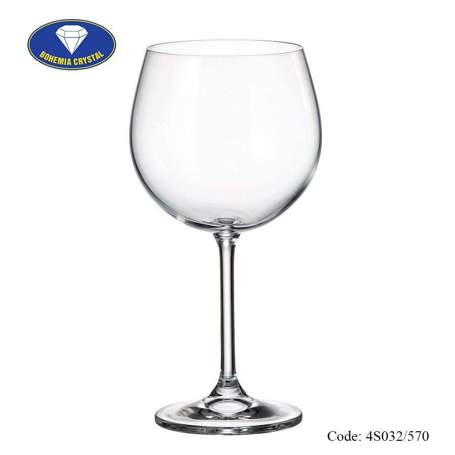 Ảnh minh họa Ly uống rượu vang đỏ Colibri
