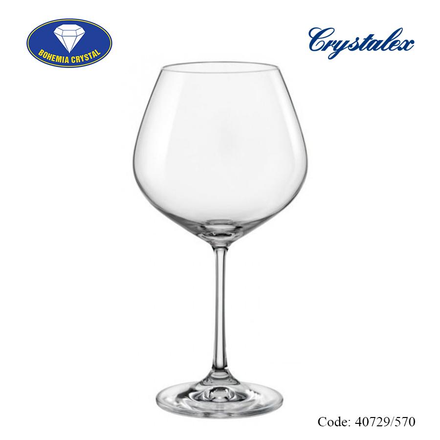 Ảnh minh họa Ly uống rượu vang đỏ Viola 570ml