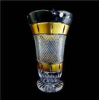 Bình hoa Pha lê mạ vàng 80838/12M75/305 30.5cm