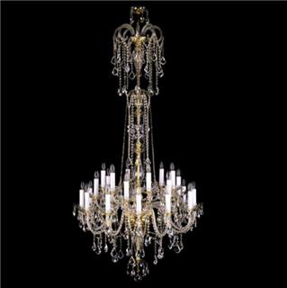 Tư vấn cách chọn đèn chùm pha lê phù hợp với nội thất trong nhà