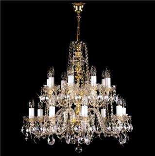 Đặc điểm nổi bật của đèn chùm pha lê treo trần thu hút ánh nhìn