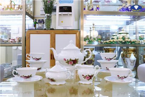 Bộ trà sứ chính hãng từ Tiệp
