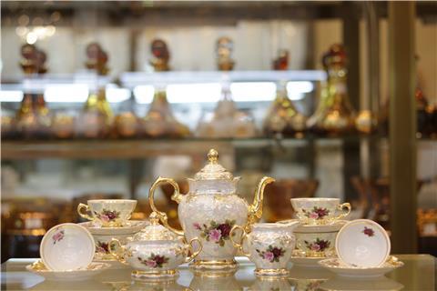 Bộ tách trà sứ cao cấp FR MS L CE