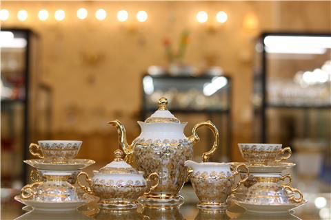 Bộ bình trà sứ nhập khẩu FR/MS/LH111