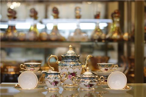 Bộ bình trà sứ đẹp từ Tiệp FR MS ZL CE