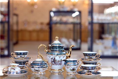 Bộ trà sứ cao cấp FR MS ZL MYS
