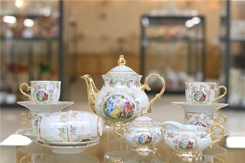 5 điểm nhấn ĐẶC BIỆT của bộ ấm trà sứ cao cấp từ Tiệp