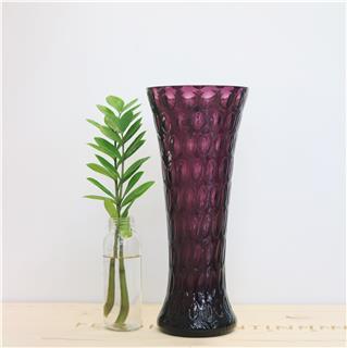 Lọ hoa màu tím cao 35cm Optika 8712E/35/25/25