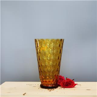 Bình hoa pha lê màu vàng Optika 84011/255/25/85