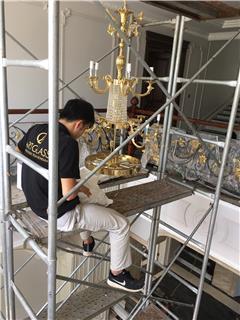 Vẻ đẹp xuất sắc của đèn chùm lớn Arabela 1200x1700 tại KĐT Long Biên