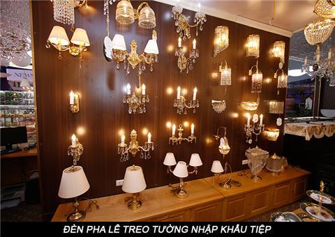 Đèn pha lê treo tường-3 đặc điểm nổi bật có thể bạn chưa biết