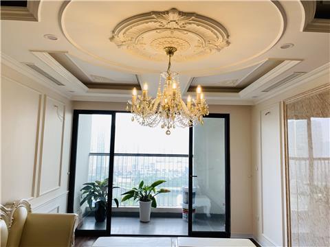 Dự án đèn pha lê tạo diện mạo mới cho căn hộ chung cư Việt Đức