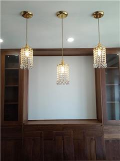 Dự án lắp đặt đèn pha lê Tiệp trong căn hộ tại Tây Hồ Residence