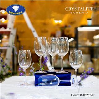 Ly uống rượu vang trắng Colibri White Wine 350ml