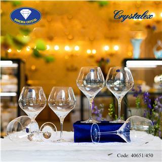 Ly uống rượu vang đỏ Amoroso 450ml, 470ml