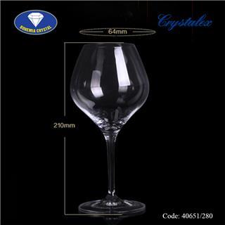 Ly uống rượu vang trắng Amoroso 280ml, 350ml