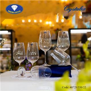 Ly uống rượu vang đỏ Viola Optic 550ml